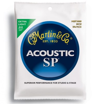 Martin Accoustic SP Extra light MSP3000