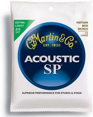 Martin Acoustic SP Extra light MSP3600